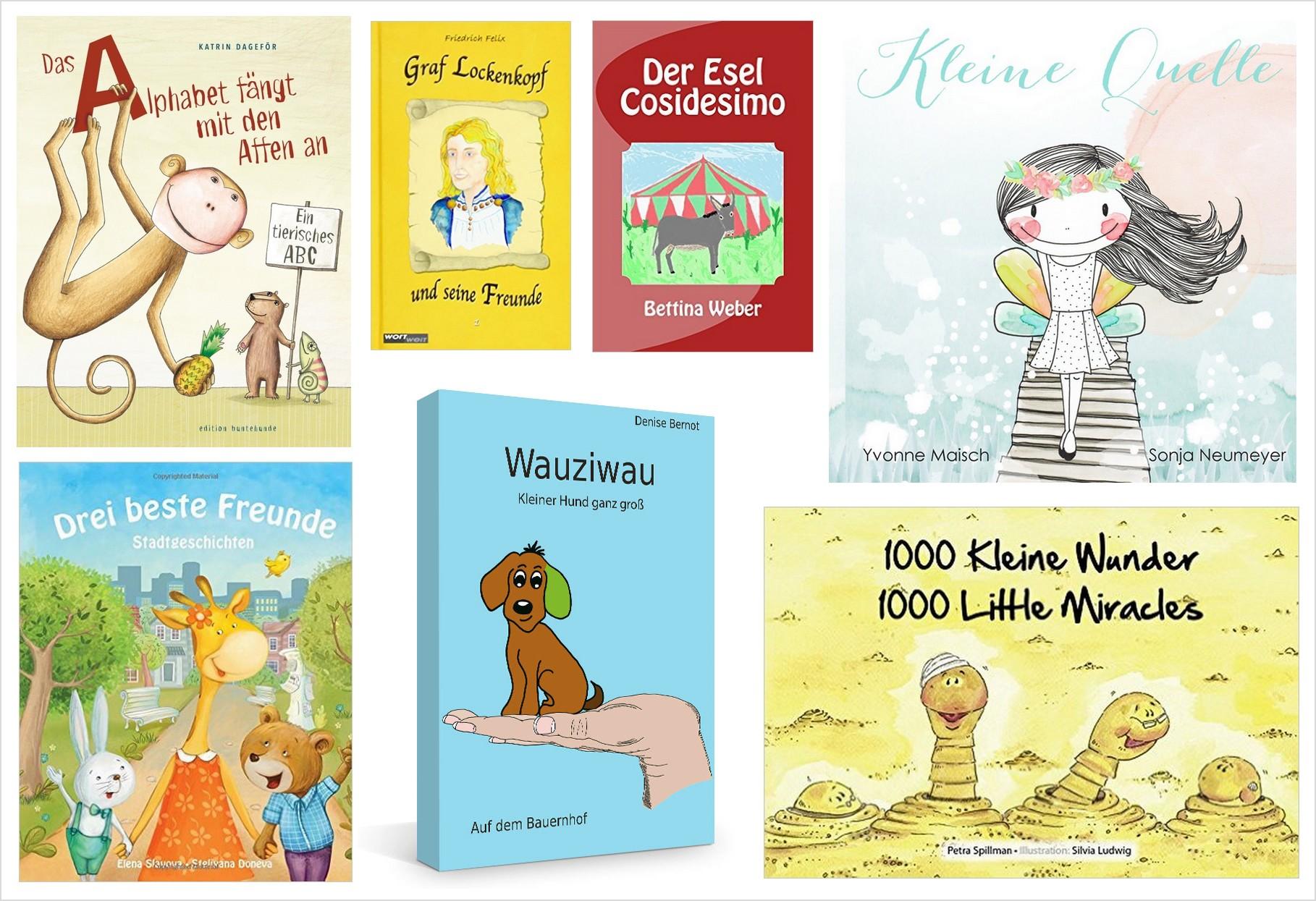 Kunterbunte Abenteuer: Kinderbuchperlen