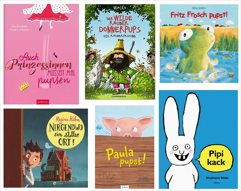 Hast du gepupst? – Kinderbücher übers Pupsen