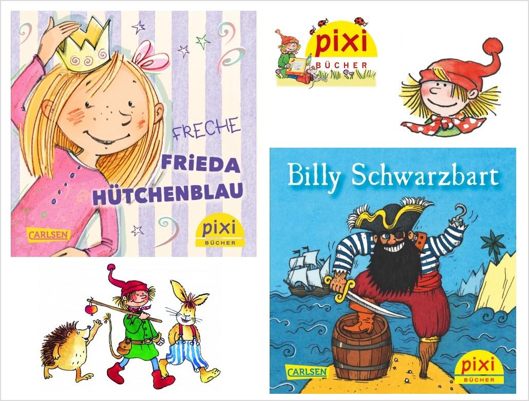 Klein, aber fein: Pixi-Bücher